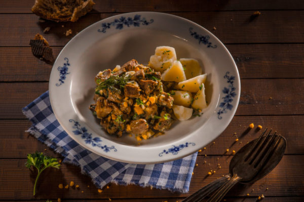 feierstengszalot, salade de viande Luxembourg, recette
