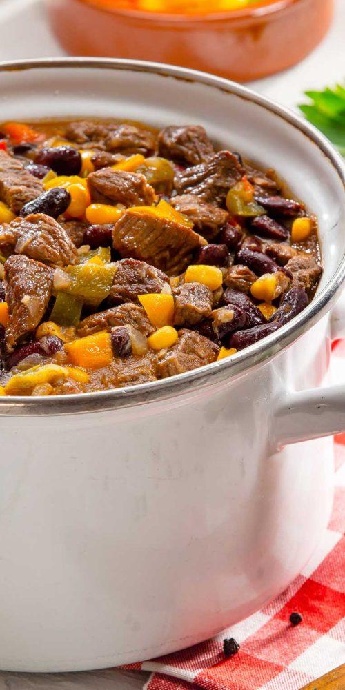 Recette chili con carne, boeuf, Maison Steffen boucherie Luxembourg