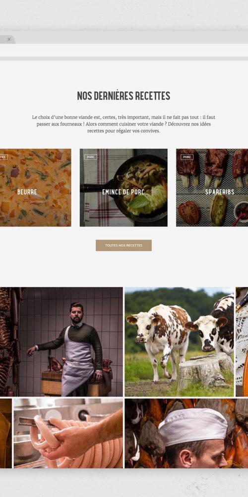 Nouveau site internet Maison Steffen
