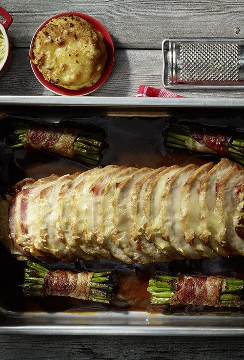 Recette rôti de porc Orloff, Maison Steffen boucherie Luxembourg