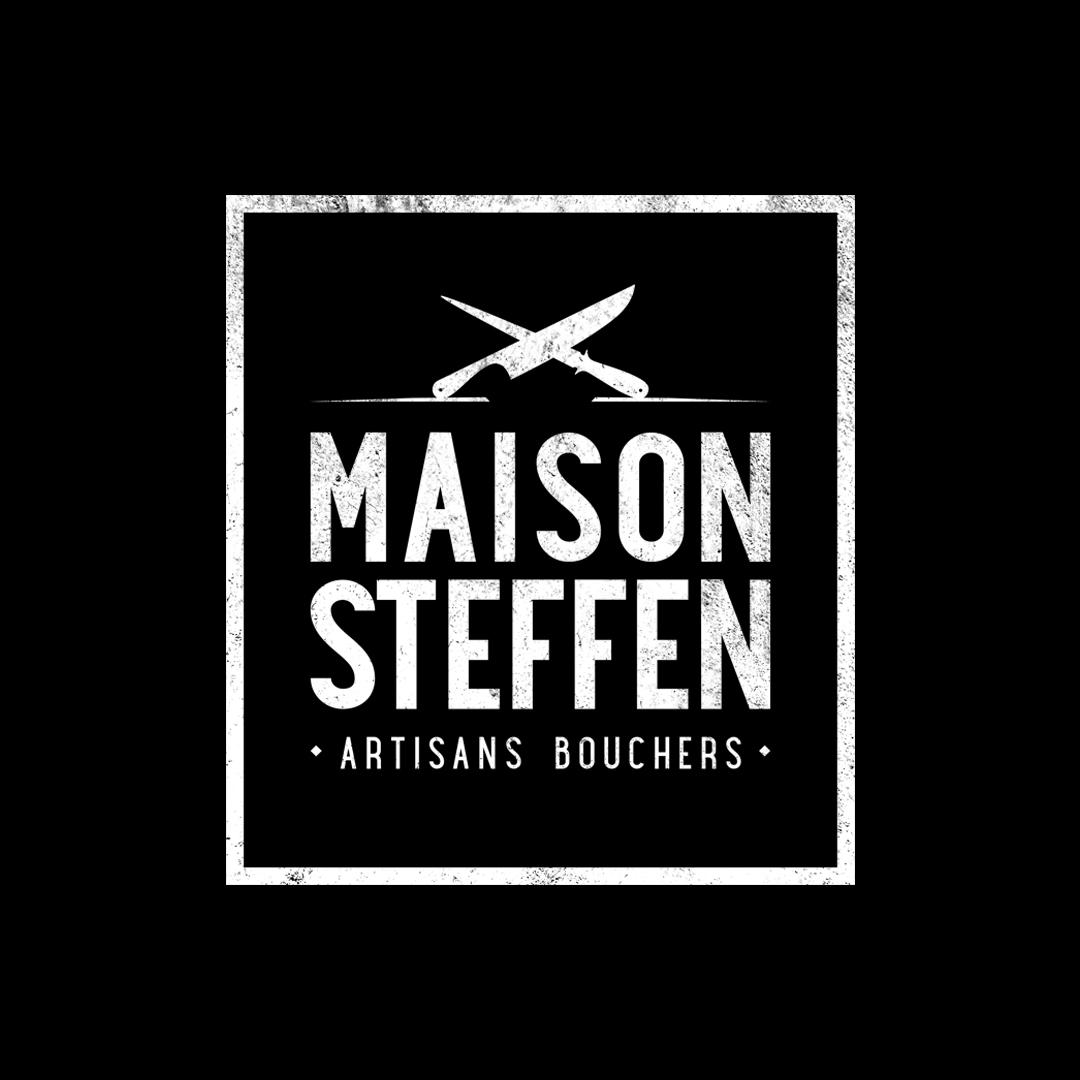 Nouveau Logo Maison Steffen Négatif et vintage