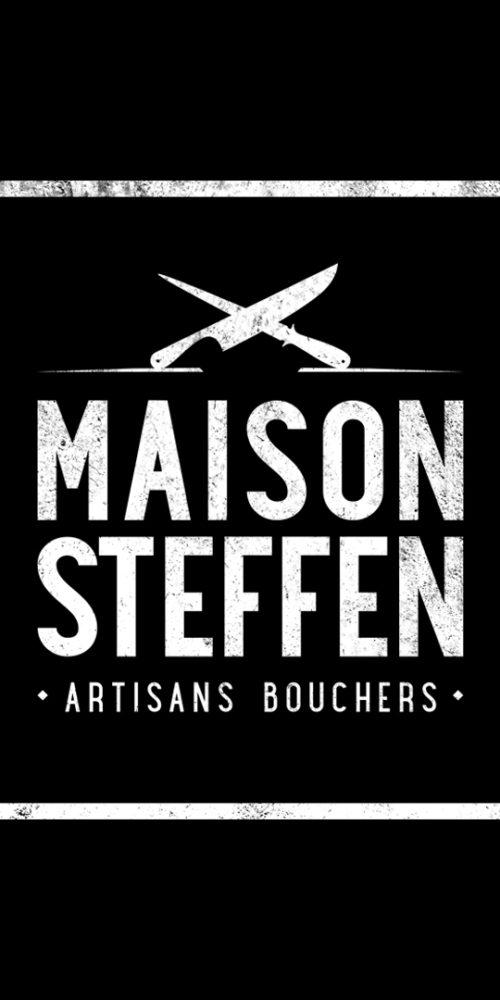 Logo Maison Steffen Négatif et vintage