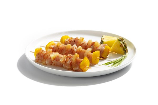 Maison Steffen Boucherie Boucher Charcuterie Salaisons Barbecue BBQ Grillade Brochette de dinde à l'ananas