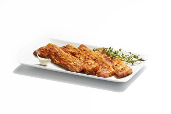 Maison Steffen Boucherie Boucher Charcuterie Salaisons Barbecue BBQ Grillades Grillspeck lard mariné bacon