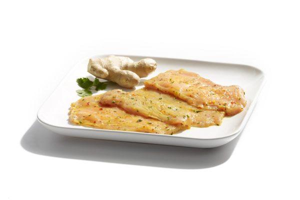 Maison Steffen Boucherie Boucher Charcuterie Salaisons Barbecue BBQ Grillades Steak de dinde mariné au gingembre