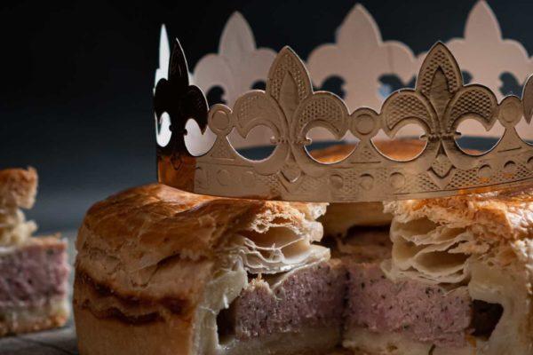 Galette des Rois de votre boucher chez Maison Steffen Luxembourg