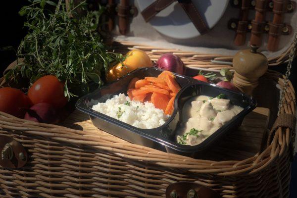 Blanquette de veau - livraison domicile steffen plats cuisinés individuels luxembourg