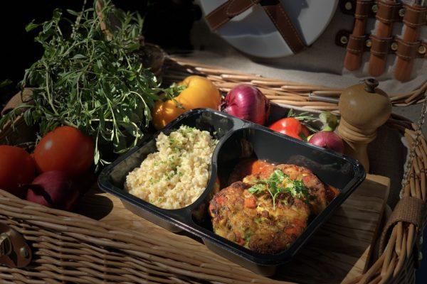 Galettes de légumes - livraison domicile steffen plats cuisinés individuels luxembourg