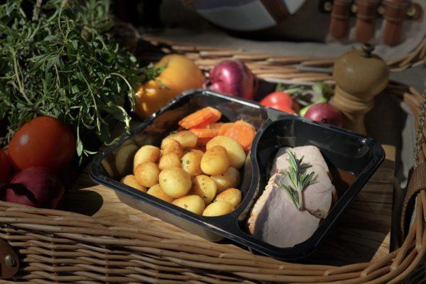 Rôti de veau - livraison domicile steffen plats cuisinés individuels luxembourg