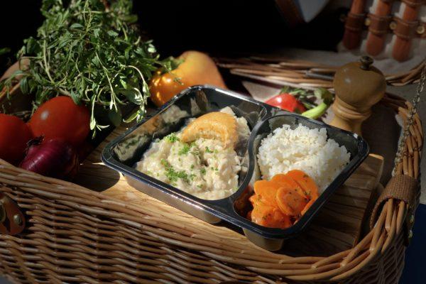 Vol-au-vent - livraison domicile steffen plats cuisinés individuels luxembourg